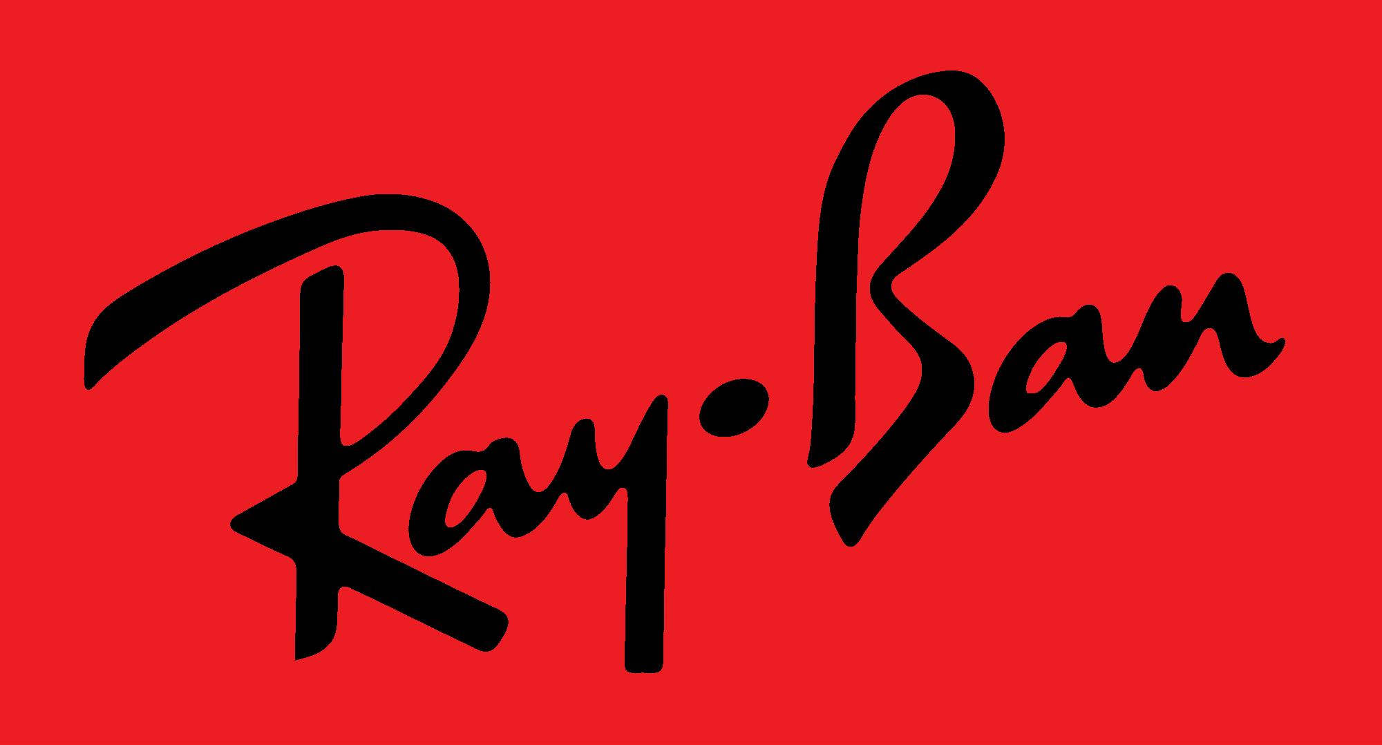 Ray-Ban Iconic Fashion Logos