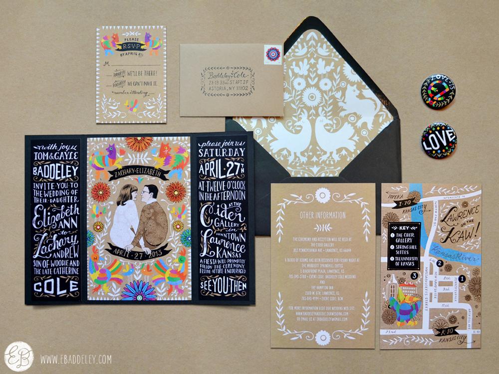 Creative Wedding Invitation Design