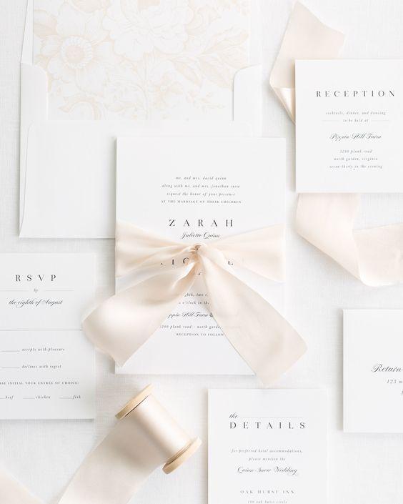 Classic Wedding Invitation Design
