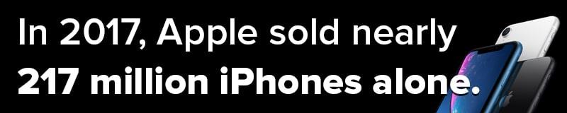 Mobile App Development Firms Help Apple Sell Over 217 Million iPhones