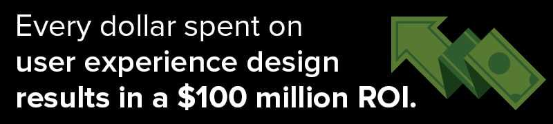 Product Design Companies Invest In UX To Foster $100 Million In ROI