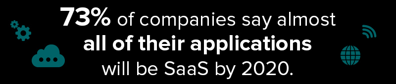 SaaS Companies Know 73% Of Applications Will Be SaaS by 2020