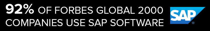SAP Company Software Comprises 92% Global Companies
